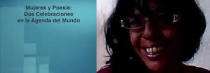 Invitación a la conferencia: Mujeres y Poesía: Dos Celebraciones en la Agenda del Mundo