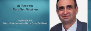 """Invitación a la conferencia: """"25 Razones Para Ser Rotarios"""""""